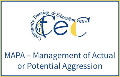 MAPA-Management-of-Actual-or-Potential-Aggression | Healthcare Courses at CTEC, non-QQI