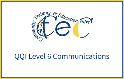 QQI 6 Childcare Communications programme at CTEC Wexford