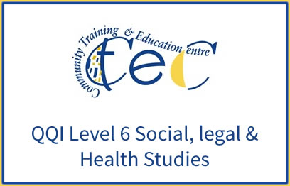 QQI-Level-6-Social-legal-Health-Studies-6N1945 | QQI 6 Childcare programme at CTEC Wexford