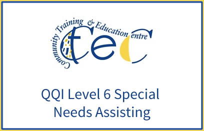 QQI-Level-6-Special-Needs-Assisting-6N1957 | QQI 6 Childcare programme at CTEC Wexford