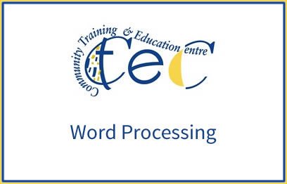 Word-Processing-5N1358 | QQI 5 programme at CTEC Wexford